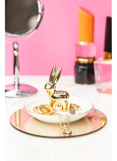 Arma House Golden Rabbit Takı Asacağı Renkli
